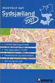 mostrup kort sydsjælland 2007 - bog