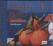 mucho gusto 1,-audio til tekstbog - bog