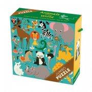 mudpuppy jumbo puslespil - dyr - 25 brikker - Brætspil