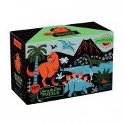 mudpuppy - selvlysende puslespil - dinosaur - Brætspil