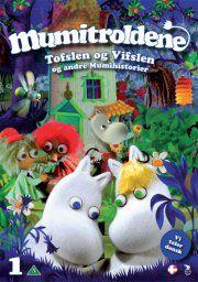 mumitroldene 1 - tofslen og vifslen - DVD