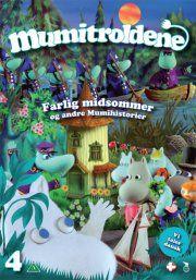 mumitroldene 4 - farlig midsommer - DVD