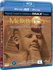 mummies - 3d - secret of the pharaohs - Blu-Ray