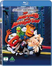 muppets indtager manhattan / the muppets take manhattan - Blu-Ray