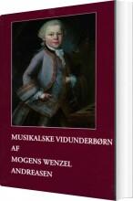 musikalske vidunderbørn - bog