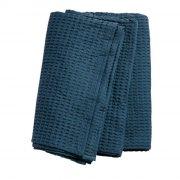 sengetæppe fra muubs - 260 x 240 cm - mørkeblå - Til Boligen