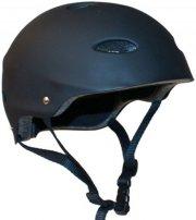 cykelhjelm - sort skaterhjelm - 58-61cm - Udendørs Leg