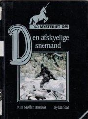 mysteriet om den afskyelige snemand - bog