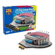 nanostad - camp nou - fc barcelona 100 brikker - 3d puslespil - Brætspil