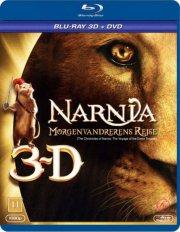 narnia - morgenvandrerens rejse - 3d  - BLU-RAY+DVD