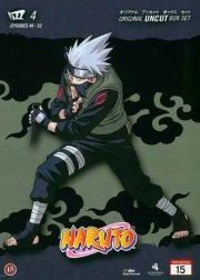 naruto - boks 4 - japansk udgave - DVD