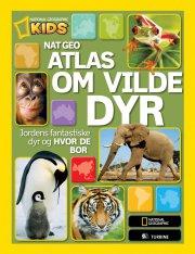 nat geo atlas om vilde dyr - bog
