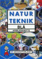 natur teknik blå - arbejdshæfte - bog