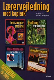 naturfag på tværs, lærervejledning med kopiark - bog
