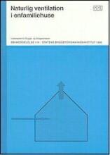 naturlig ventilation i enfamiliehuse - bog