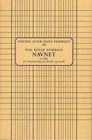 navnet - bog