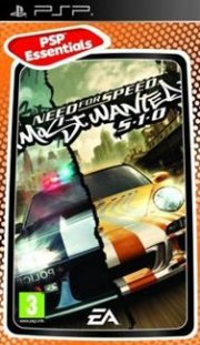 need for speed most wanted (essentials) - psp