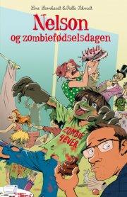 nelson og zombiefødselsdagen - bog