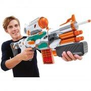 nerf gun / gevær - elite modulus tri strike - Legetøjsvåben