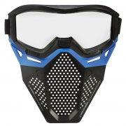 nerf - rival face mask blue team - Legetøjsvåben