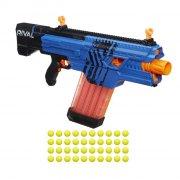nerf gun / gevær - rival khaos mxvi 4000 - blå - Legetøjsvåben