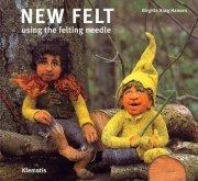 new felt using the felting needle - bog