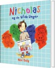 nicholas og de vilde unger - bog