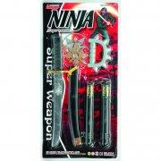 ninja sæt med sværd, 6 dele - Legetøjsvåben