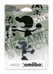 nintendo amiibo figurine mr. game & watch - Figurer
