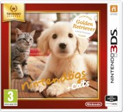 nintendogs and cats 3d: golden retriever (select) - nintendo 3ds