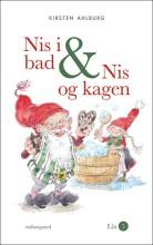 nis i bad & nis og kagen - bog
