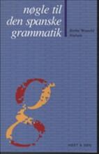 nøgle til den spanske grammatik - bog