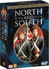 nord og syd dvd box - komplet boks - DVD