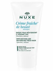 nuxe - masque crème fraîche de beaute moisturizing and soothing refreshing mask 50 ml - Hudpleje