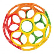 oball motorikbold / o ball bold - 15 cm - multifarve - Babylegetøj