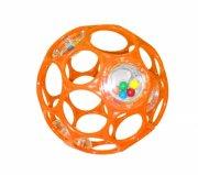 oball rangle motorikbold / o ball bold - 10 cm - orange - Babylegetøj