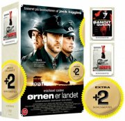 ørnen er landet / bandit queen / rovdyr - DVD
