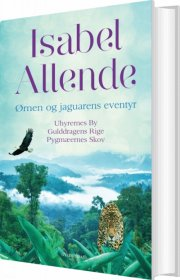 ørnen og jaguarens eventyr - bog