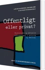 offentligt eller privat? - bog
