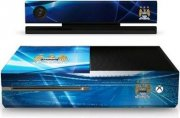 xbox one skin - manchester city merchandise - xbox one console skin - Konsoller Og Tilbehør