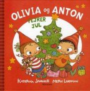 olivia og anton fejrer jul - bog