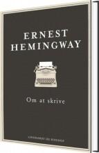 om at skrive, hc - bog