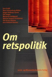 om retspolitik - bog