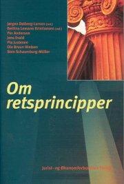 om retsprincipper - bog