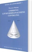 omkring livsformsanalysens udvikling - bog