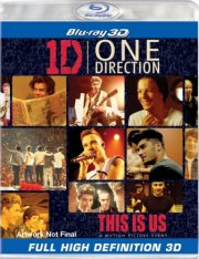 one direction: this is us - 3d - Blu-Ray