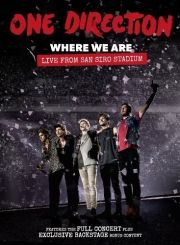 one direction where we are - live from san siro stadium - DVD