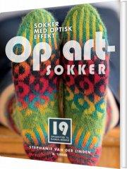 op art-sokker - bog