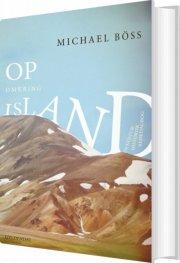op omkring island - bog