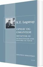 ophav og omgivelse - bog